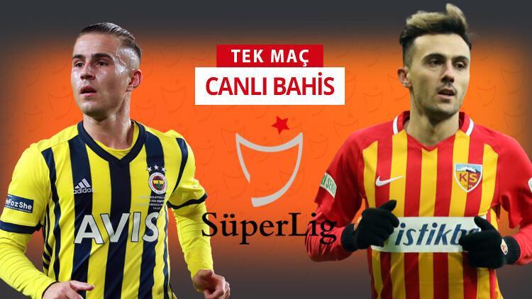 Mesut Özil oynayacak mı? Fenerbahçe'nin Kayserispor karşısında iddaa oranı...