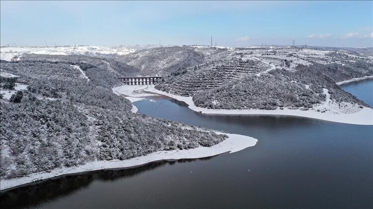 İstanbul'un barajlarındaki su seviyesi son durum.. Su seviyesi yükselmeye devam ediyor..