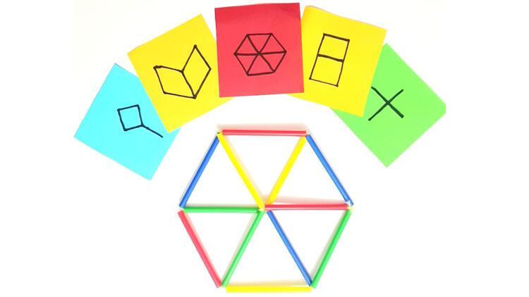 Pipet ile yapılan eğlenceli etkinlik: Riddle Cube
