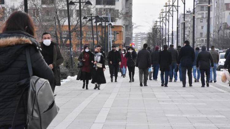 Sivas'ta, kısıtlama sonrası yaya ve araç trafiği