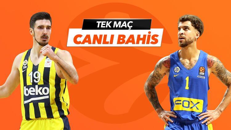 Fenerbahçe Beko'nun konuğu Maccabi! Canlı yayın ve canlı iddaa Misli.com'da...