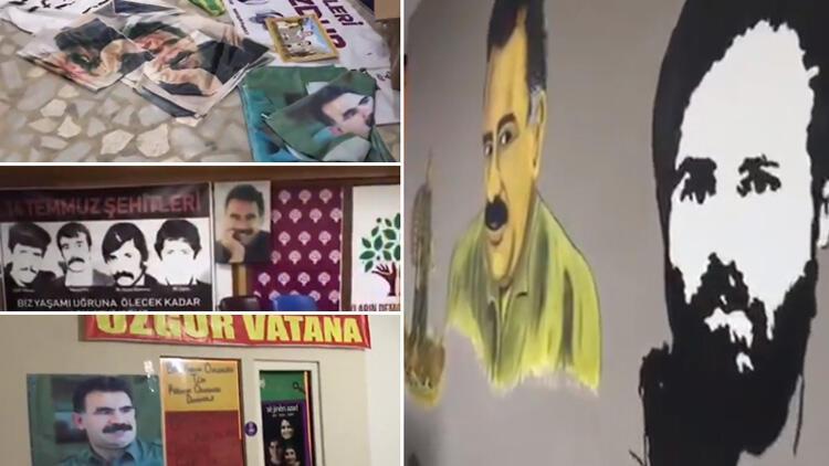 Son dakika: HDP Esenyurt İlçe Başkanlığı'nda skandal! PKK'ya ait eğitim notları bulundu