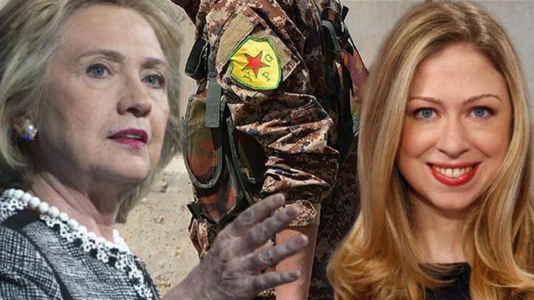 Dizisini çekecekler... Clinton ailesinden YPG/PKK'ya skandal destek!