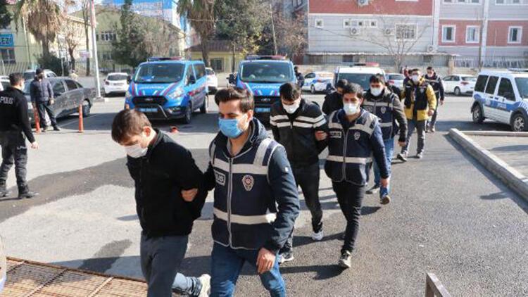 Şanlıurfa'da, kombi hırsızlığına 2 tutuklama