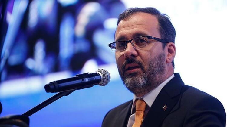 Bakan Kasapoğlu açıkladı: Stat zeminleriyle ilgili harekete geçtik