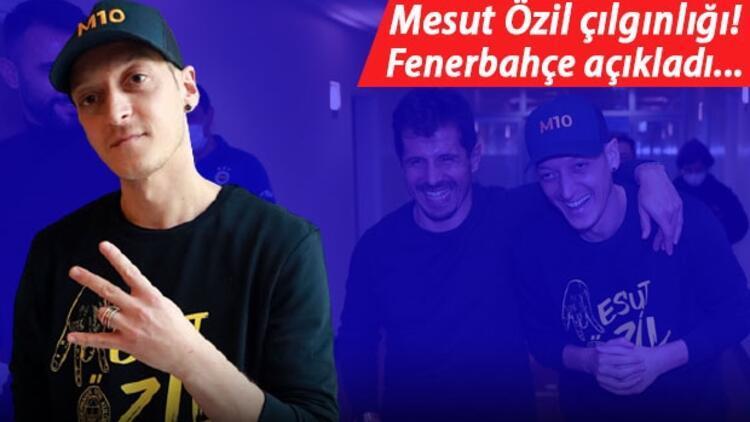 Mesut Özil'in Fenerbahçe'ye imza törenine büyük ilgi! Dış basın...