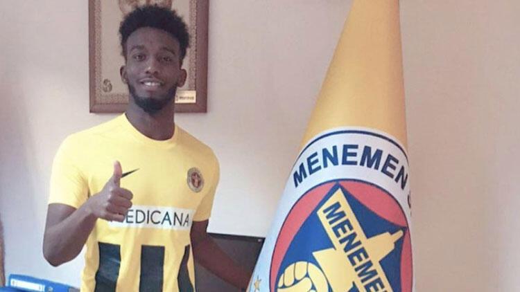 Menemenspor, Omar Mohamed'i transfer etti