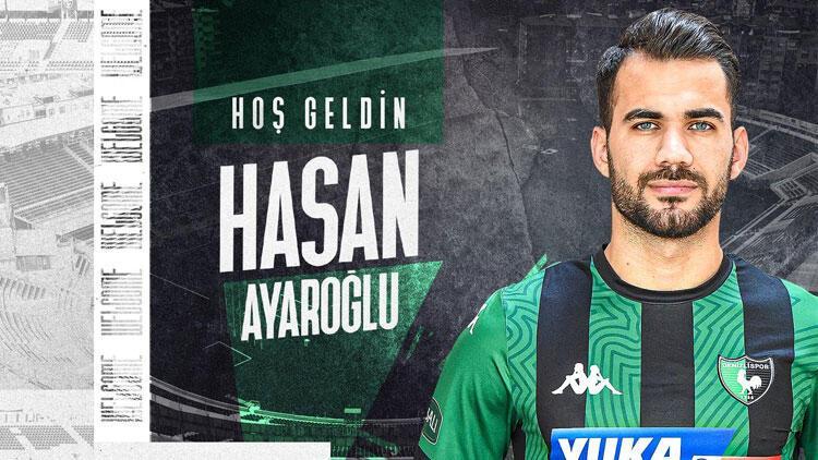 Denizlispor, Hasan Ayaroğlu'nu kadrosuna kattı