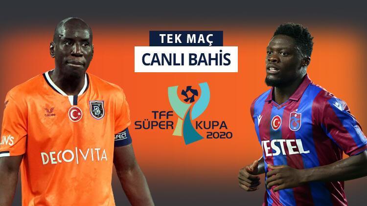 Süper Kupa hangi takımın olacak? Başakşehir ile Trabzonspor'dan iddaa'da favori olan...