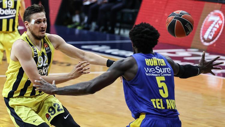 Fenerbahçe Beko 82-75 Makkabi Tel Aviv / Maç sonucu