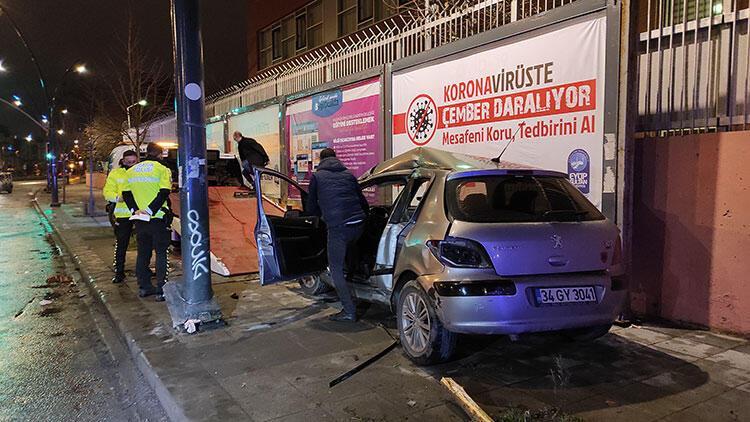 Eyüpsultan'da trafik kazası: 2 yaralı