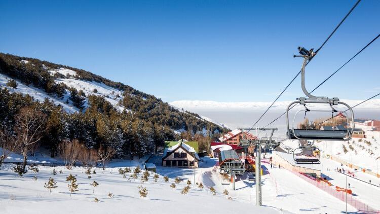 Kayak İçin En İyi Adreslerden: Erzurum-Palandöken