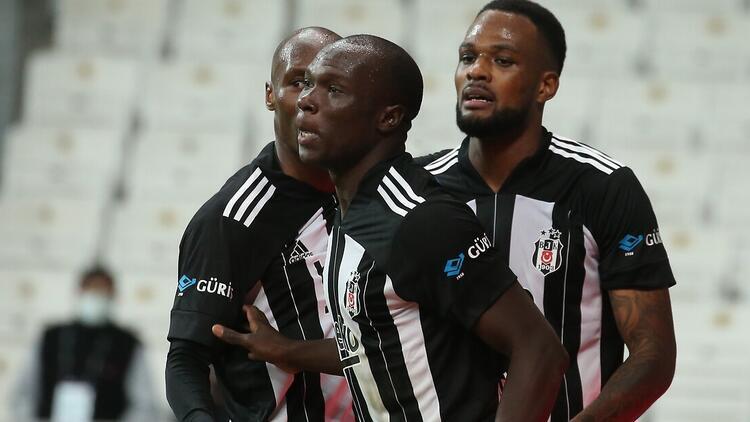 Beşiktaş'ta ilk yarıya damga vuran isimler: Larin, Atiba, Aboubakar...
