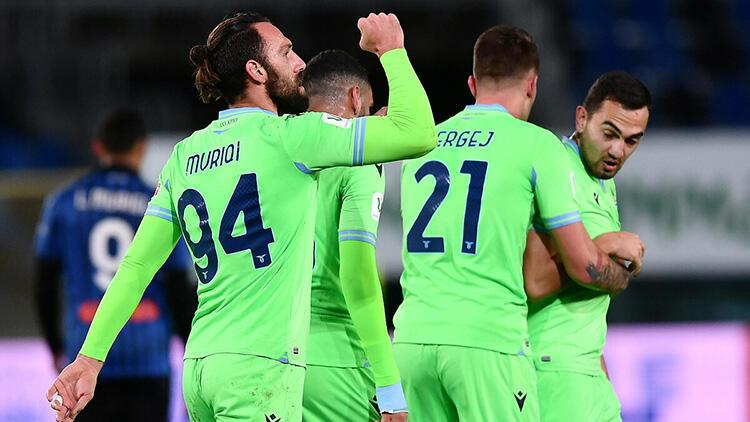 Vedat Muriqi'in golü Lazio'ya yetmedi! Atalanta yarı finalde