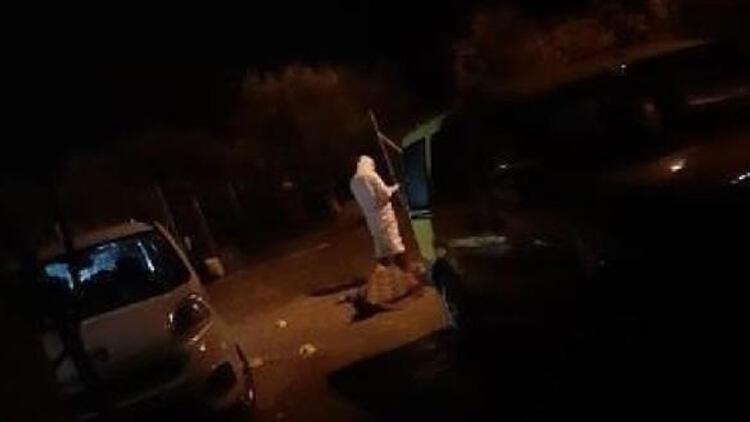 Sokak ortasında pompalı tüfek dehşeti!