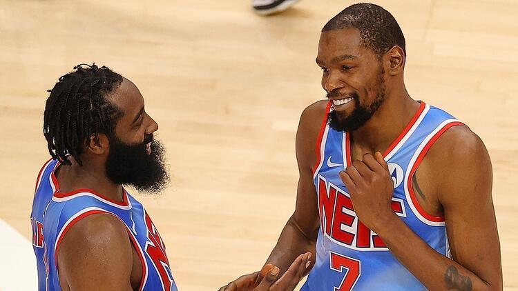 NBA'de Gecenin Sonuçları | Brooklyn Nets yıldızlarıyla kazandı! 89 sayılık katkı...