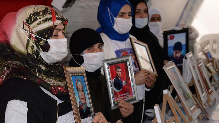 Diyarbakır'da HDP önündeki evlat nöbetinde 514'üncü gün
