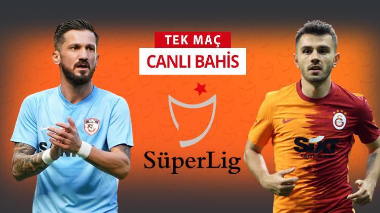 Galatasaray'da yeni transferler kadroda! Gaziantep FK önünde galibiyetlerine iddaa'da...