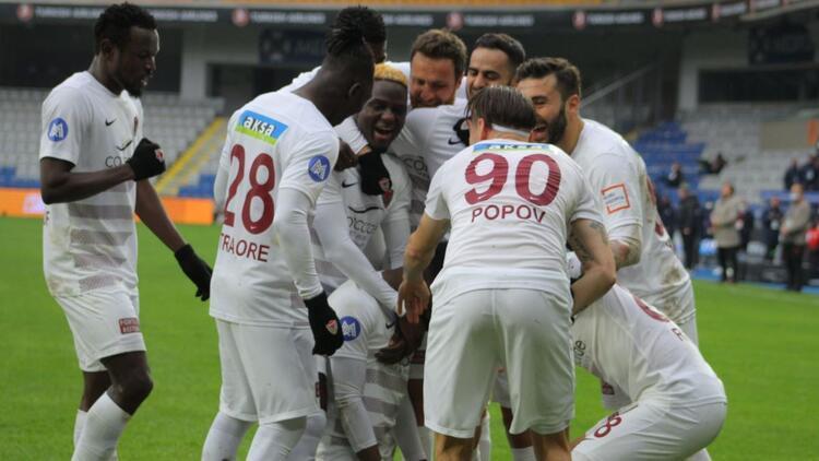 Başakşehir 1-5 Hatayspor (Maçın golleri ve özeti)