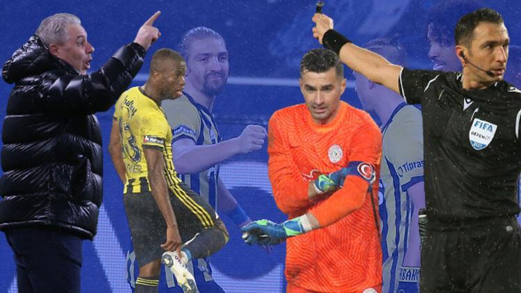 Fenerbahçe-Rizespor maçına damga vuran an! Tarihe geçti, ortalık yıkıldı