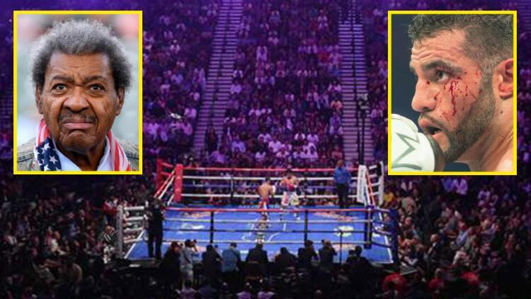 Ünlü boksörün korktuğu başına geldi!