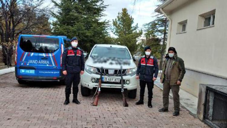 Kaçak avlanan 2 kişiye, 24 bin TL para cezası