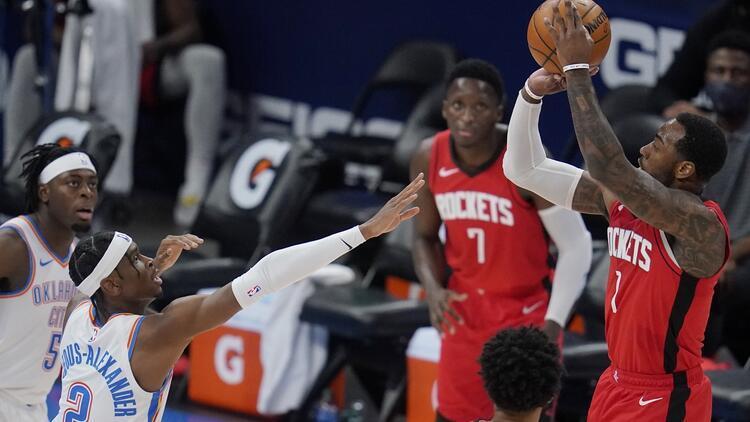 NBA'de Gecenin Sonuçları: Rockets, üç sayı rekoru kırdı! Thunder'ı farklı yendi...