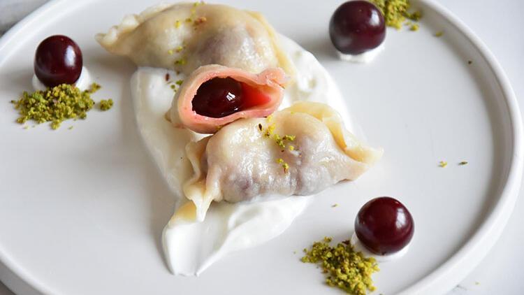 Ukrayna mutfağından vişneli vareniki