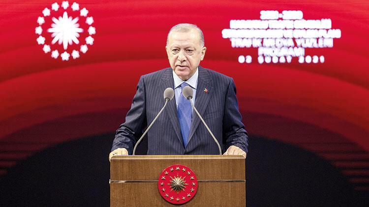 Erdoğan, trafikte hedefi açıkladı: Sıfır can kaybı, sıfır hasar