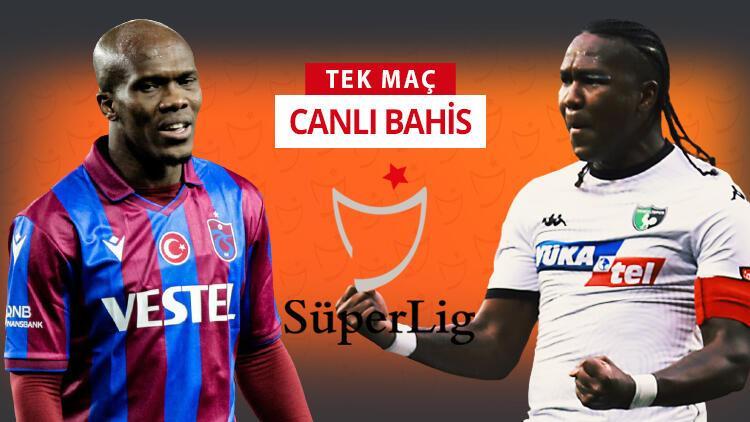 Trabzonspor'un konuğu Denizlispor! Bu maça iddaa oynayanların %72'si...
