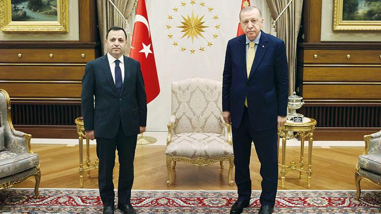 Cumhurbaşkanı Erdoğan, AYM Başkanıyla görüştü