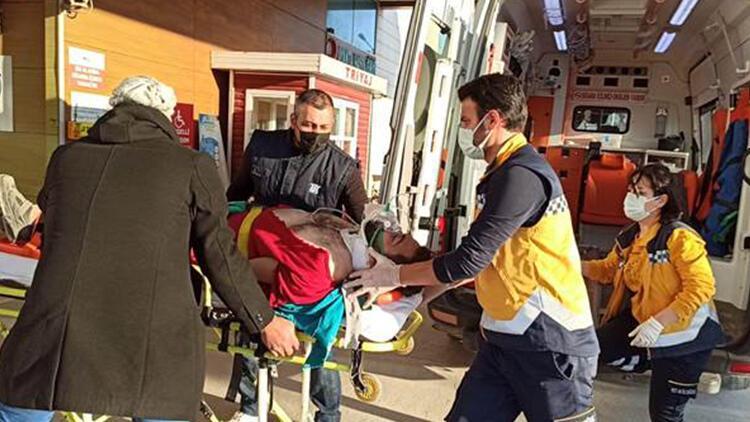 Bursa'da asansör boşluğuna düşen  işçi ağır yaralandı