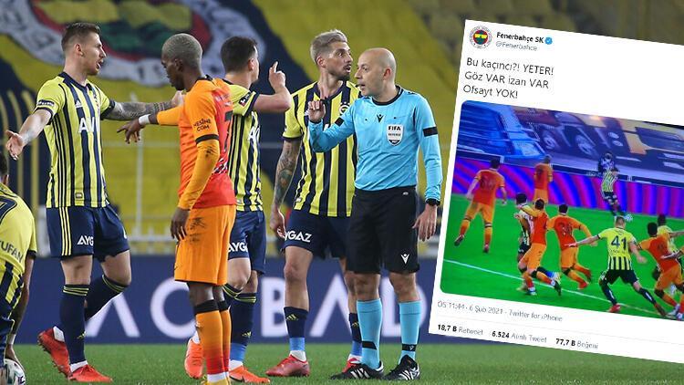 Fenerbahçe'den derbi sonrası ofsayt kararına tepki! Ozan'ın iptal edilen golü...