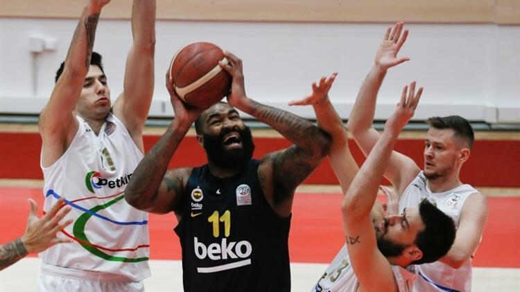 Basketbol Süper Ligi: Aliağa Petkimspor 67-80 Fenerbahçe Beko