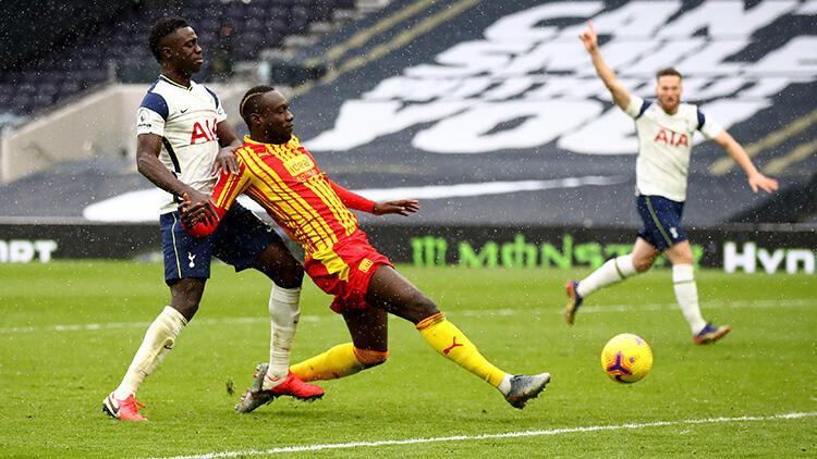 Tottenham, West Bromwich'i 2 golle geçti! Diagne'nin golleri bayrağa takıldı