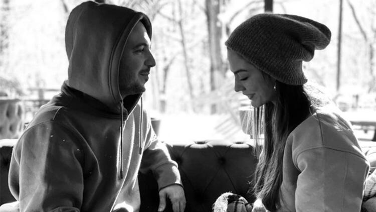 Demet Özdemir ve sevgilisi Oğuzhan Koç'tan romantik poz