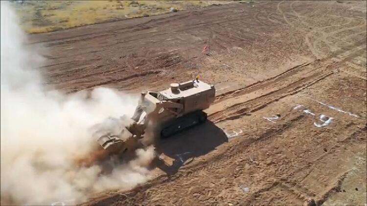 Milli Savunma Bakanlığı duyurdu! Mekanik Mayın Temizleme Teçhizatı tüm testleri geçti