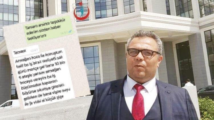 Hastanede rüşvet iddiası… Whatsapp müdürü yaktı