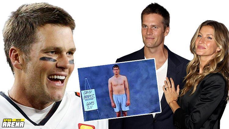 Okulda dalga geçiliyordu, tarihin en iyisi oldu; Tom Brady