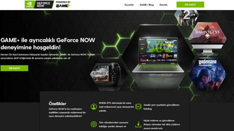 GeForce NOW powered by GAME+ platformu güçleniyor