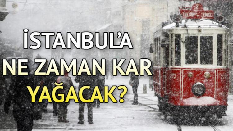 İstanbul'da kar ne zaman yağacak? MGM'den önemli açıklamalar