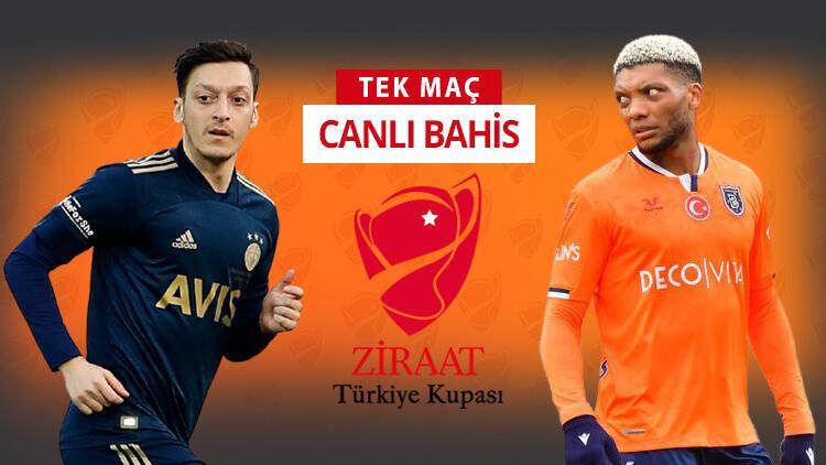 Başakşehirde 6 sakat, artı 3 şüpheli Fenerbahçenin kupa maçında iddaa oranı...