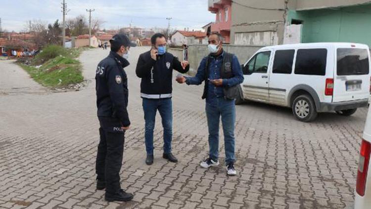 Keşan'da polis denetiminde 82 kişiye 276 bin lira ceza