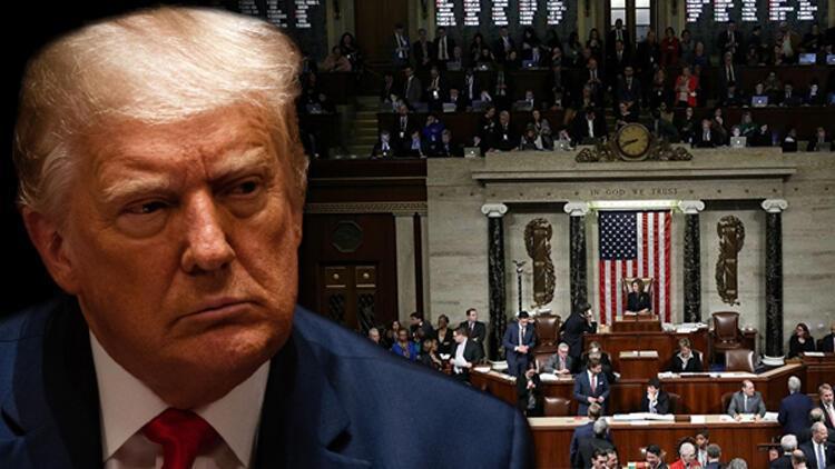 Son dakika... ABD'de tarihi gün! Dünyanın gözü burada! Trump'ın azil davası başladı