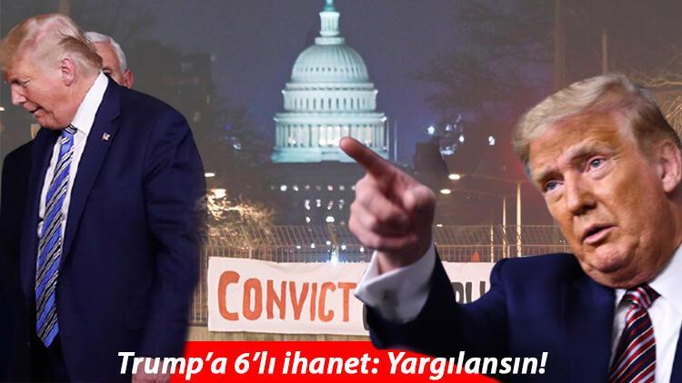 Trump'a azil davasında şok! Kendi partisi 'yargılansın' dedi