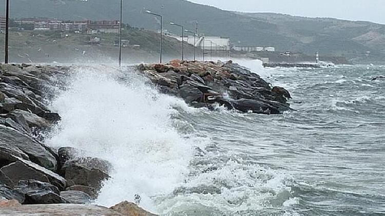 Trakya için 'kuvvetli fırtına' uyarısı