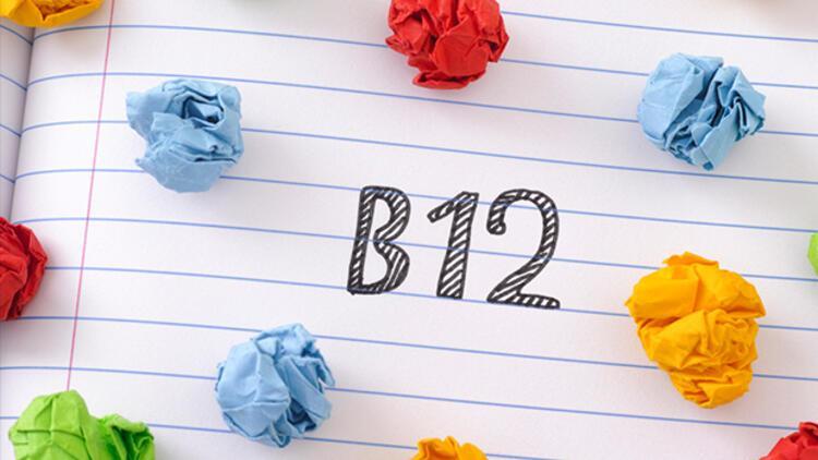B12 vitamini eksikliği neden olur? İşte B12 eksikliği belirtileri