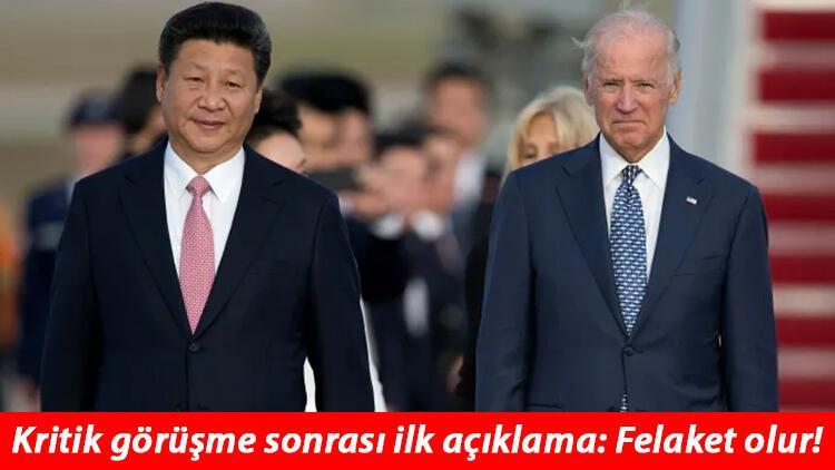 ABD-Çin arasında kritik görüşme... İlk açıklamalar geldi: Felaket olur!