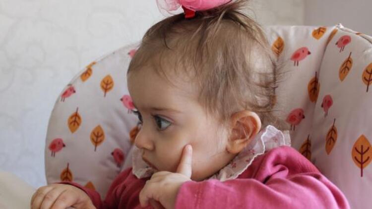 15 aylık Zeynep'e ilik nakli için ailesi uygun donör arıyor