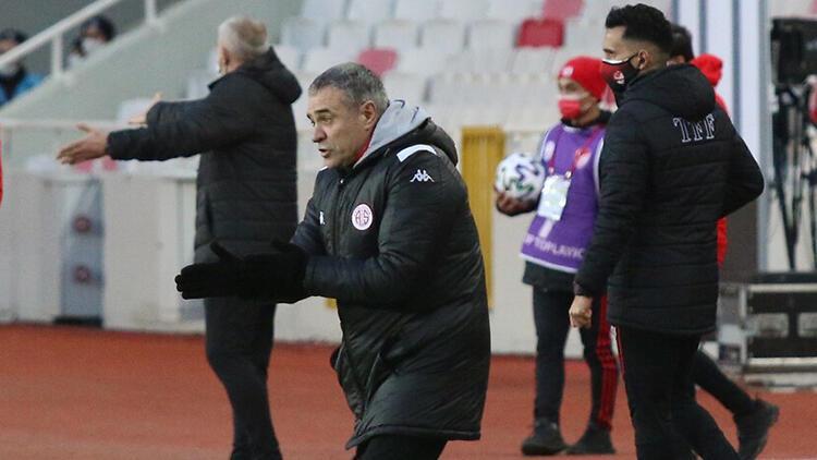Antalyaspor'da Ersun Yanal'dan hücum özeleştirisi!